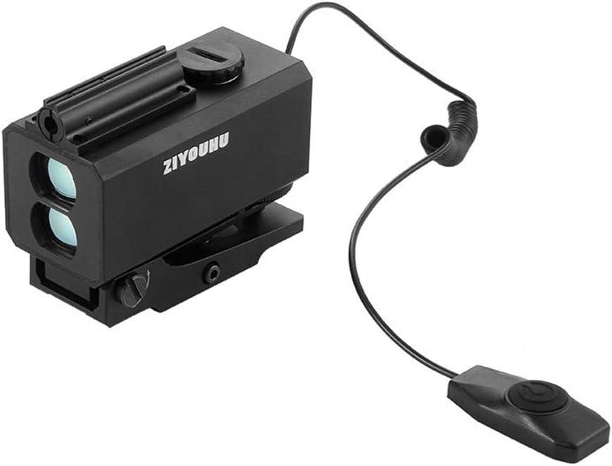 JYXZ Telémetro De Golf Mini Al Aire Libre Objetivo La Caza Alcance, Black