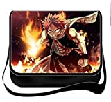 YOYOSHome Fairy Tail Anime Cosplay Messenger Bag Shoulder Bag Handbag Crossbody Backpack School Bag