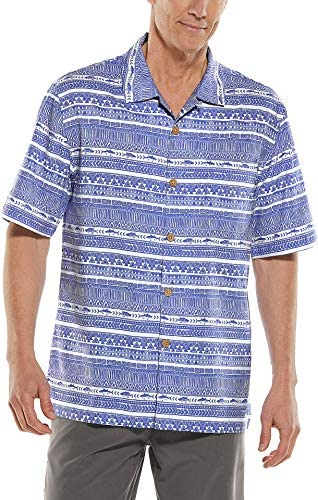 Coolibar UPF 50+ Men`s Safari Camp Shirt - Sun Protective