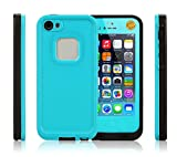 Best Qable Powerz(TM) iPhone 5 Cases - iPhone 5S Case, Heavy Duty Shockproof, Dirtproof, Waterproof Review