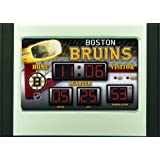Boston Bruins Scoreboard Desk Clock