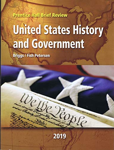 - Prentice Hall Brief Review Science 2019 New York United States History & Government Student Edition Grade 9/12
