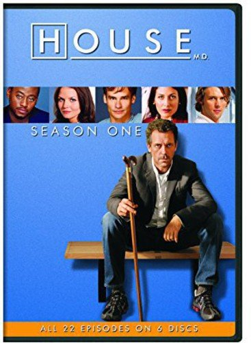 DVD : House: Season One (Boxed Set, Snap Case, Repackaged, 6 Disc)