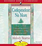 img - for By Melody Beattie: Codependent No More [Audiobook] book / textbook / text book