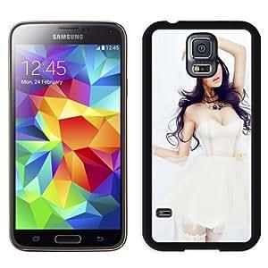 Unique Designed Cover Case For Samsung Galaxy S5 I9600 G900a G900v G900p G900t G900w With Li Ying Zhi Girl Mobile Wallpaper(1) Phone Case