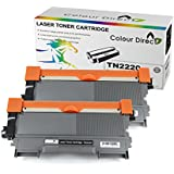 Colour Direct bt-2XTN2220 - Tóner de tinta para impresoras Brother, color negro