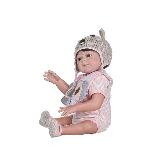 Quiet.T realista Niño 19 pulgadas 48 cm ReBorn Muñeca del ...