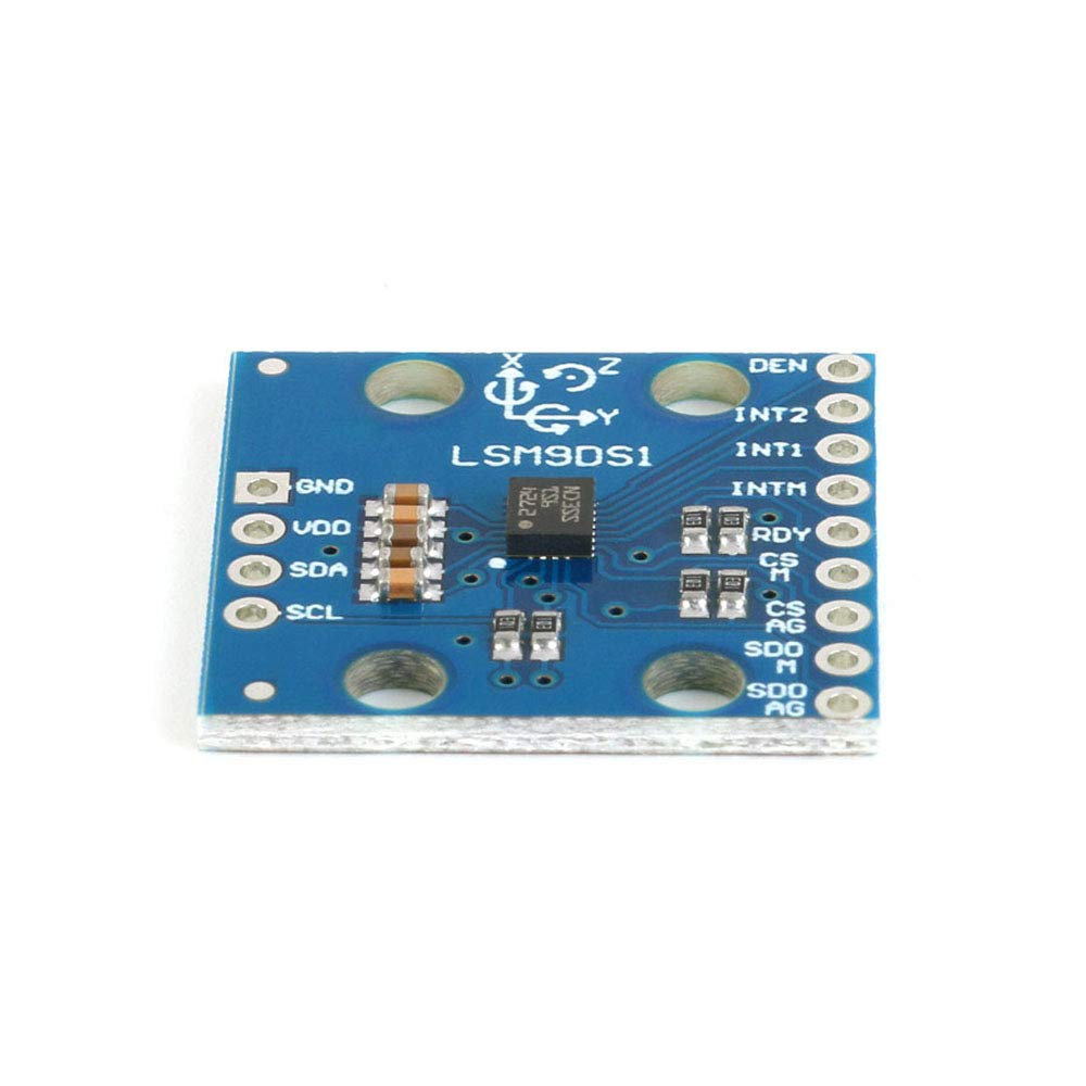 LSM9DS1 Module de capteur /à 9 Axes IMU acc/él/érom/ètre magn/étom/ètre /à acc/él/érom/ètre IMU pour Arduino