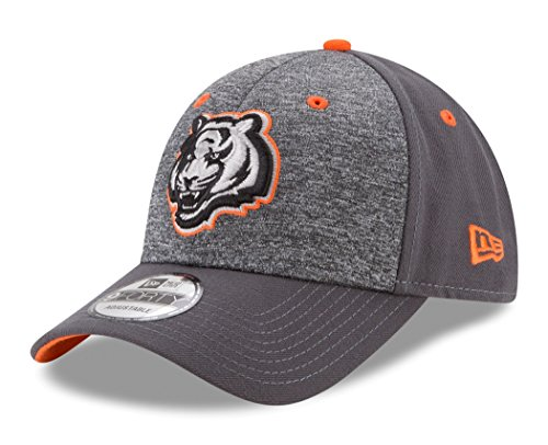 NFL Cincinnati Bengals Adult Men The League Shadow 2 9FORTY Adjustable Cap, One Size, Graphite ()