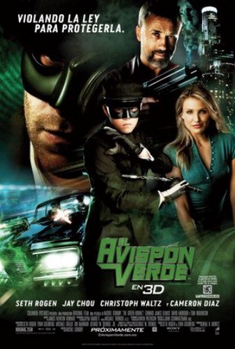 The Green Hornet 27X40 Double-Sided Reg Style C Spanish Very Rare Charaters Seth Rogen Jay Chou Cameron Diaz - Rogen Seth Style