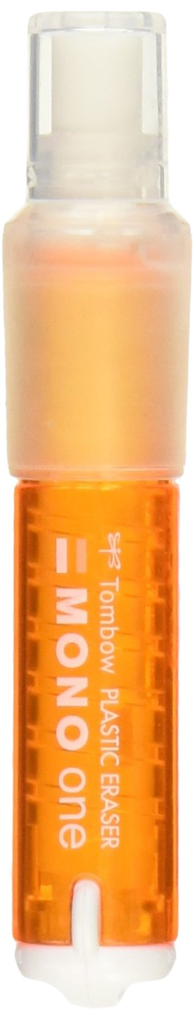 Tombow Holder Eraser, MONO One, Orange (EH-SSM50)