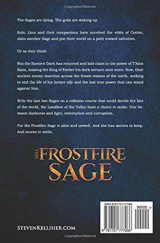 The Frostfire Sage (The Landkist Saga) (Volume 4): Steven