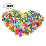 Accguan 100pcs Colorful Ball Fun Ball Soft Plastic Ocean...