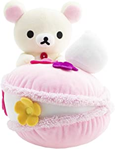 Rilakkuma San-X Licensed Korilakkuma w/ Macaron Plush Doll - 12