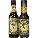 Pickapeppa Sauce Variety 2 Pack (1) Jamaican Original (1) Spicy Mango - 5 oz (Pack of 2)