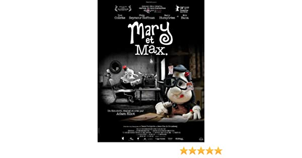 Amazon Com Mary And Max Movie Poster 27 X 40 Inches 69cm X 102cm 2009 French Style B Toni Collette Philip Seymour Hoffman Eric Bana Barry Humphries Bethany Whitmore Prints Posters Prints