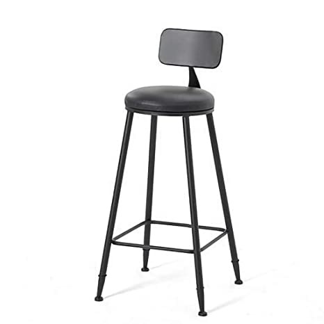 Magnificent Amazon Com Feiqiangqiang Bar Stool Barstools With Back Rest Squirreltailoven Fun Painted Chair Ideas Images Squirreltailovenorg
