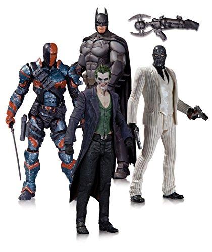 Arkham City Joker Mask (DC Collectibles Batman: Arkham Origins: Action Figure 4-Pack)