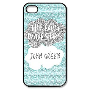 T-TGL(RQ) Customized The Fault in Our Stars Pattern Protective Cover Case for Iphone 4/4S