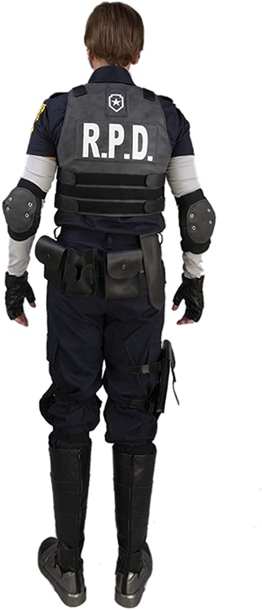 Resident Evil Leon Cosplay Costume Men Betl Holster Guard Props Game Accessory