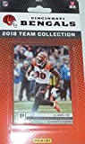 Cincinnati Bengals 2018 Panini Factory Sealed NFL Football Complete Mint 12 Card Team Set including Andy Dalton, A.J. Green, Giovani Bernard plus