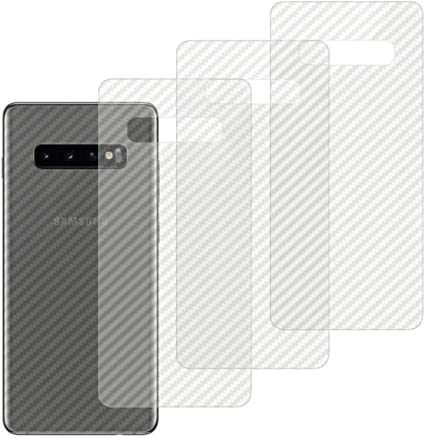 Qichenlu 4 Stück Rückseite Folie Für Galaxy S10 Folie Elektronik