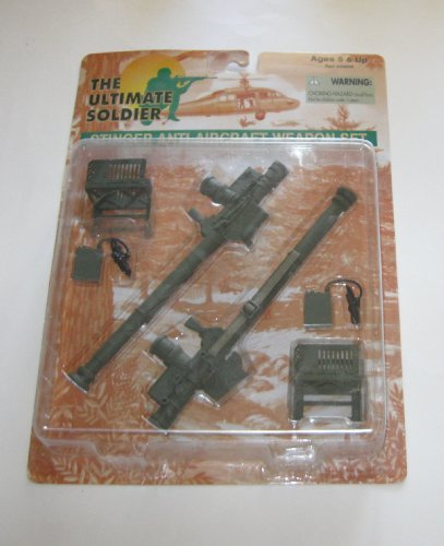 - The Ultimate Soldier : Stinger Anti-Aircraft Weapon Set