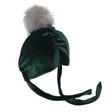 Sukisuki Otoño Invierno Niños Niñas Pompón Bola Resistente al Viento  Headgear Ear Guard Cap Beanie Hat 5f8e12094bc