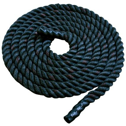 Body Solid Fitness Training Rope ColorSize - Black - 50 ft.