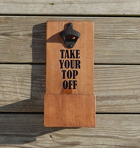 fish wall mount bottle opener - 8