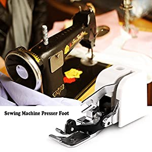ONEVER Side Cutter Sewing Machine Presser Foot Feet Attachment Accessory for All Low Shank Singer Janome Brother from ONEVER