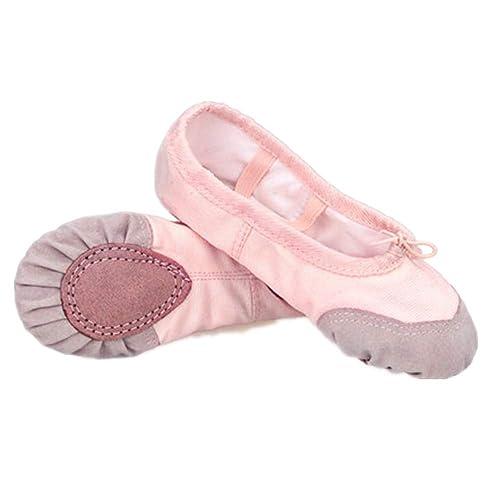 Amazon.com: Zapatillas de baile, para niñas y yoga, zapatos ...