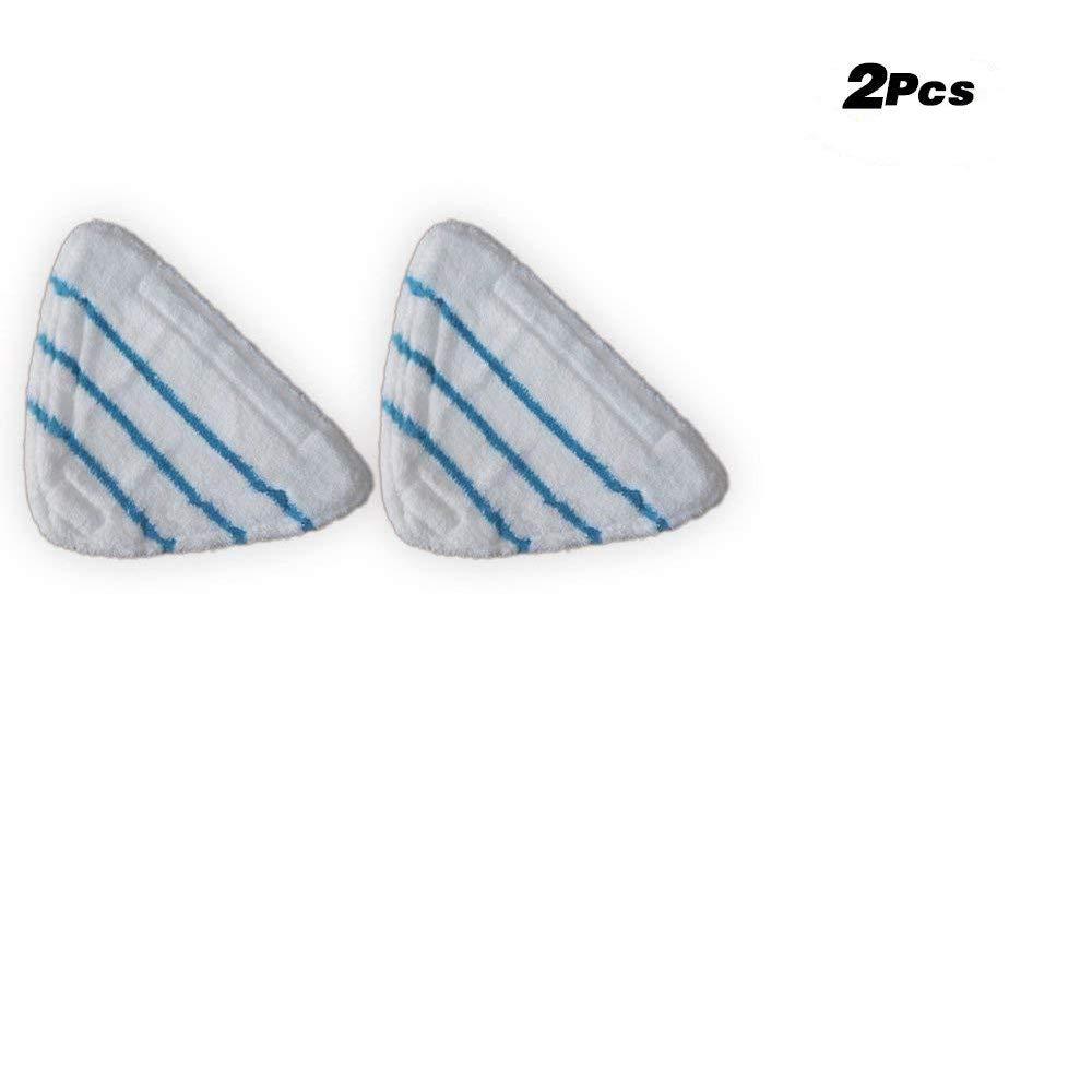 h2oスチームモップ用モップ交換用標準パッド、h20 X 5モップパッド、サイズ: CM 11.8 X 7.8 CM、クリーナー床洗濯可能マイクロファイバーパッド King Bra-S229-2 B07F65ZHLW 2個