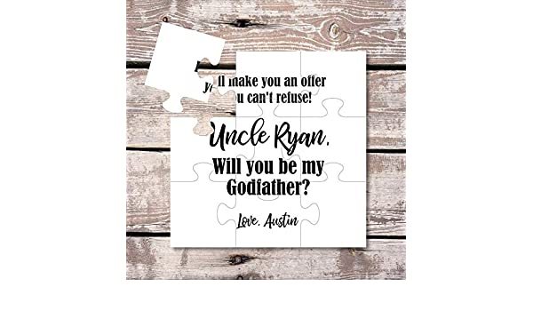 97d58e5302b51 Amazon.com: Godmother Gift Will you be my Godparents Godmother ...