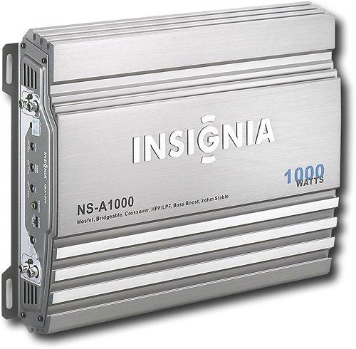 Amazon.com: Insignia 1000W Bridgeable 2-Channel Amplifier: Car Electronics