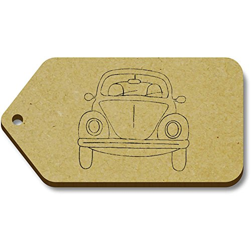 Azeeda 66mm 10 X regalo 34mm 'Antique car' bagaglio Tag tg00067585 qIIwTr1