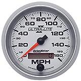 "Auto Meter 4988 Ultra-Lite II 3-3/8"" 160 mph In-Dash Electric Programmable Speedometer"