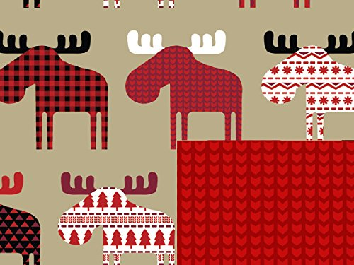 (Pack of 1, Material Moose 24