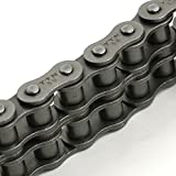 "TRITAN 40-2R 10FT Precision ANSI Double Roller Chain, 1/2"" Pitch, 10' Box"