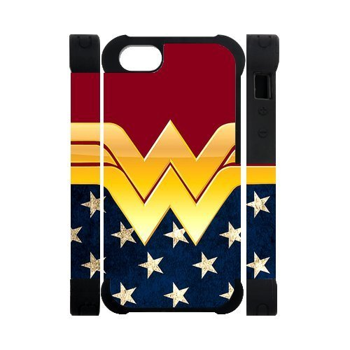 [Hipster Wonder Woman Apple Iphone 5S/5 Case Cover Dual Protective Polymer Cases American Flag] (Nice Sailor Costumes)