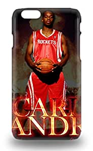 Excellent Design NBA Sacramento Kings Carl Landry #24 Case Cover For Iphone 6