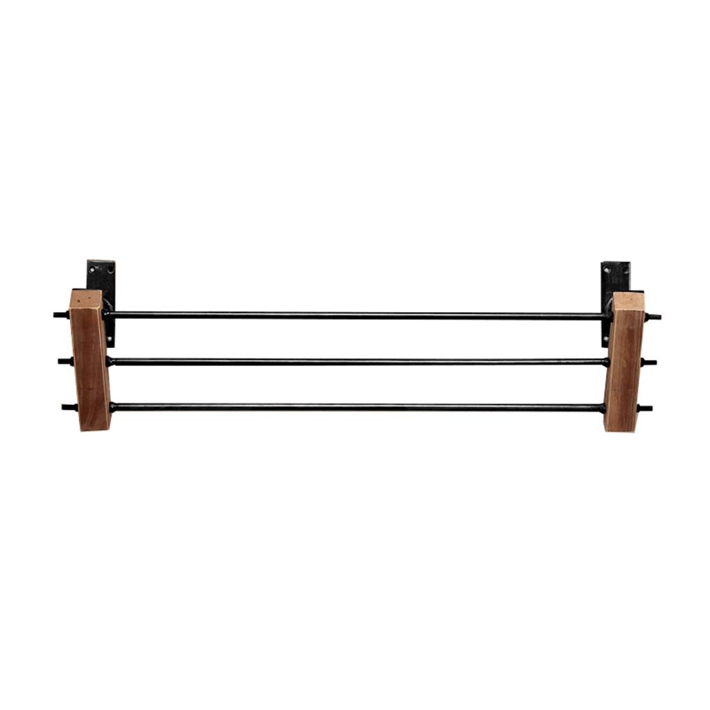 80 cm LAXF- Coat Racks Free Standing Wooden Retro Wall Display Stand for Home Clothing Store, Coat Rack,Men and Women Hangers (Size   80 cm)