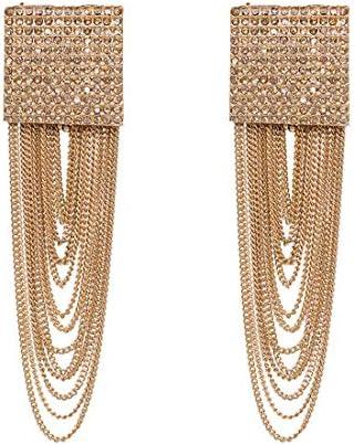 [해외]Fringe Tassel Statement Dangle Earrings - Lightweight Long Feather Drops / Fringe Tassel Statement Dangle Earrings - Lightweight Long Feather Drops