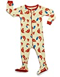 Leveret Organic Cotton Chicken Footed Pajama