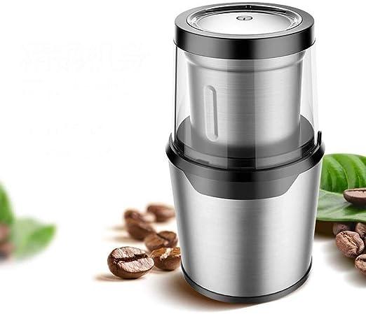 Dsnmm Cafetera Grano de café Molinillo doméstico eléctrico ...