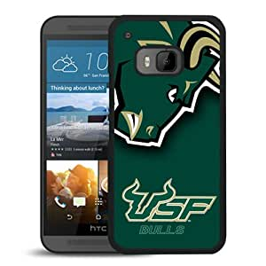 NCAA American Athletic Conference AAC Football South Florida Bulls 4 Black New Design HTC ONE M9 Protective Phone Case