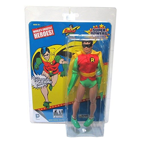 DC Comics Super Powers Series 2 Robin 8 Inch Retro Action Figure