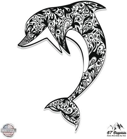 Dolphins Vinyl Sticker Waterproof Decal