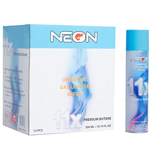 Neon 11x butane fuel+ torch lighter (96) by N2