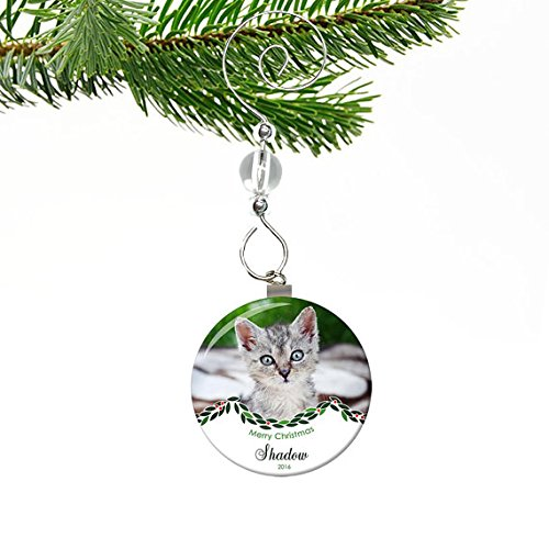 Cat Photo Ornament (Personalized Cat Ornament) - Amazon.com: Cat Photo Ornament (Personalized Cat Ornament): Handmade